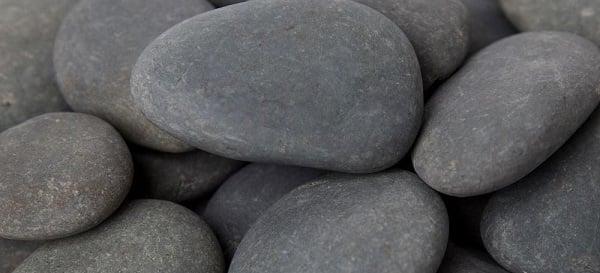 pile of plain rocks